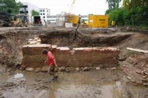 """Ausgrabungen """"Wandsbeker Schloss"""""""