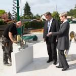 Bezirksamtsleiter zu Gast bei der Wohnungsbaugenossenschaft Gartenstadt Wandsbek eG