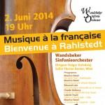 Musique à la francaise – Bienvenue à Rahlstedt