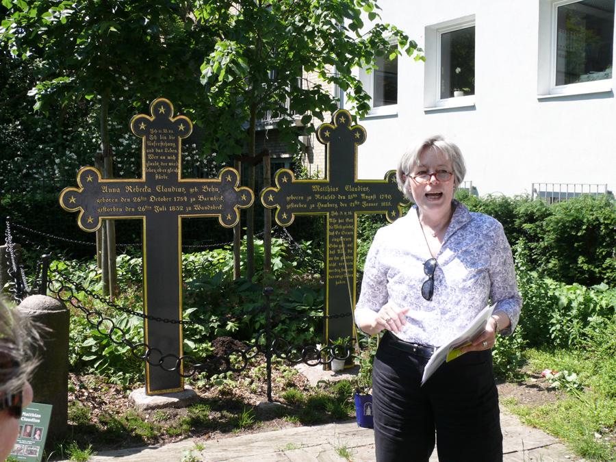 Rosentag bei Matthias Claudius