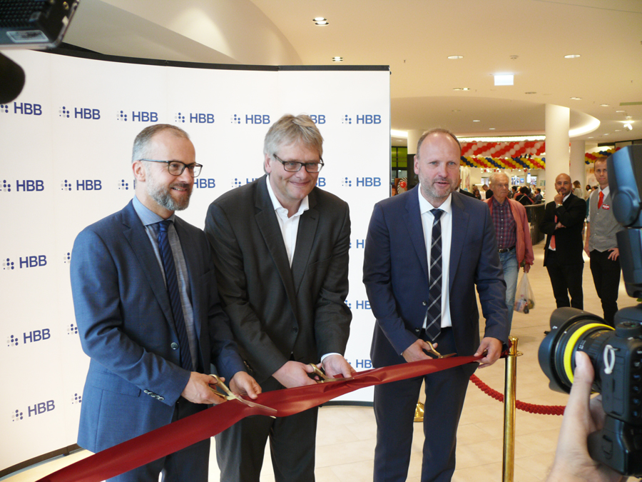 HBB eröffnet Einkaufszentrum W1 am Wandsbeker Markt