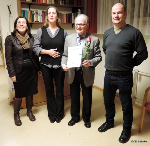 SPD Farmsen ehrt ihre Jubilare