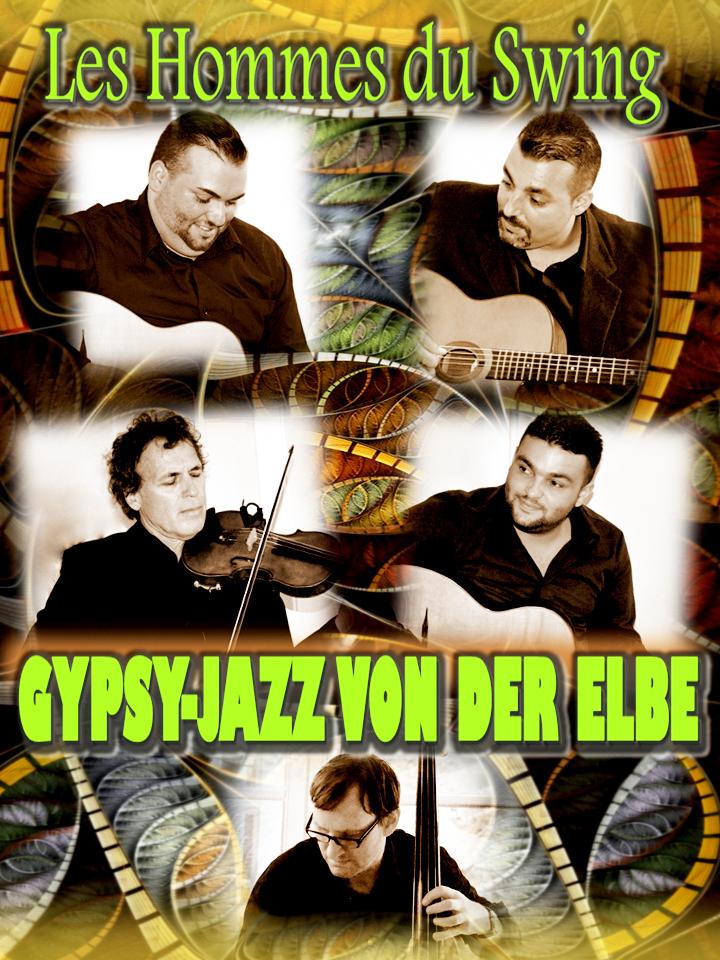 Gypsy-Jazz von der Elbe – «Les Hommes du Swing»