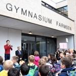 Gymnasium Farmsen mit Neubau des Hauptgebäudes