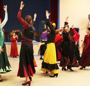 Flamenco Workshop im Kulturzentrum BiM - Bild M. El Masri