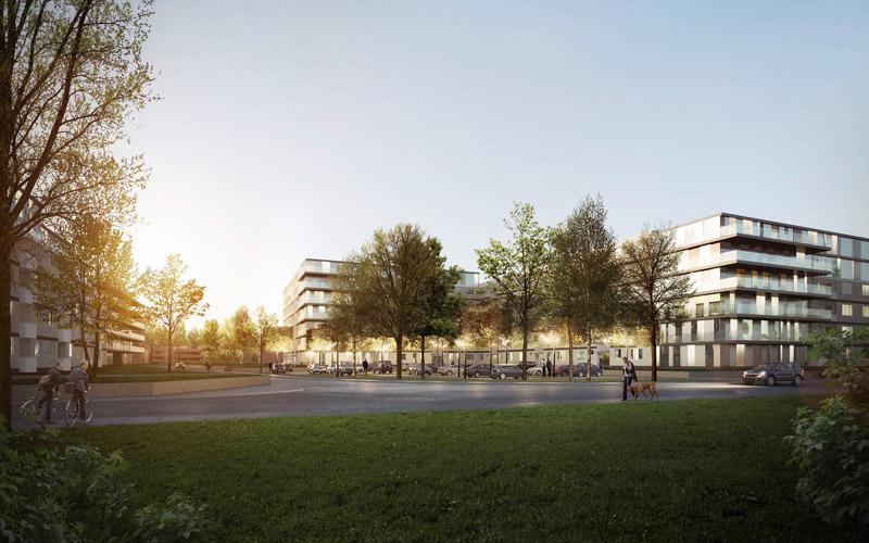 deutsche investment errichtet durch nachverdichtung 75 neue wohnungen in hamburg rahlstedt. Black Bedroom Furniture Sets. Home Design Ideas