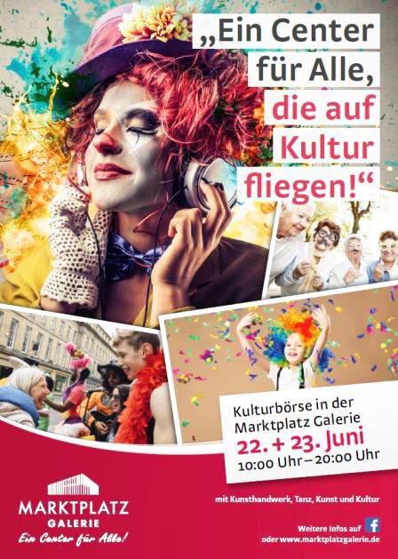 15. KulturBörse in Bramfeld mit lokalen Kreativen und Show-Programm