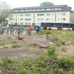 Beginn der Umgestaltung des Ostpreußenplatzes im Mai