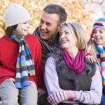 Natürliche Erkältungsmedizin schützt die Familie
