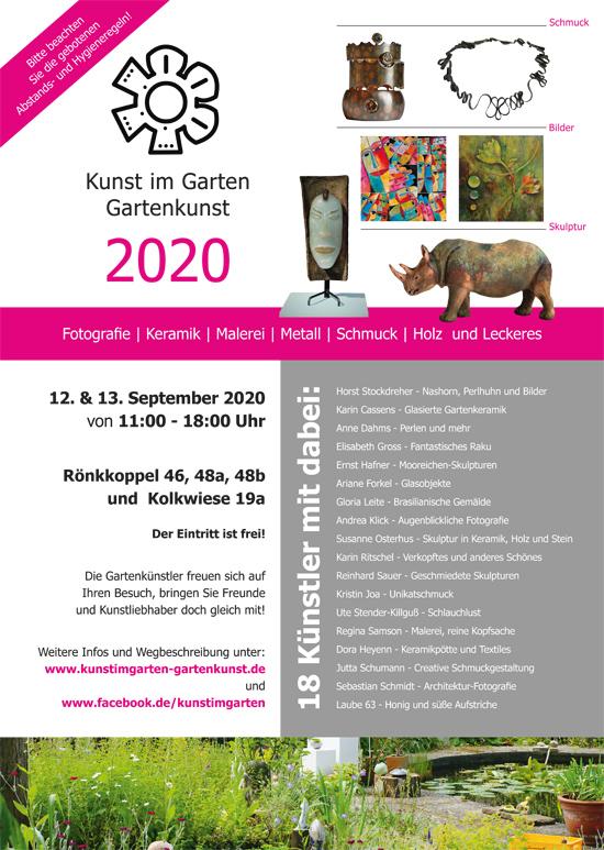 Kunst im Garten – Gartenkunst 2020
