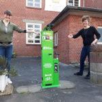 Fahrrad-Reparatur-Station beim BIM eingeweiht